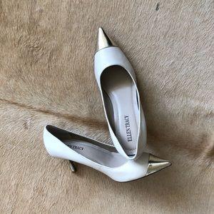 Ellen Tracy kitten heels